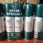 Co-packing par manchonnage de produits cosmétiques - déodorants Roc