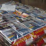 Magazines Regroupés et Cerclés en croix chez Adb Conditionnement